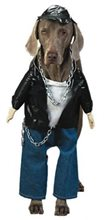 Picture of Biker Dog Pet Costume