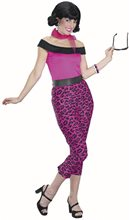 Picture of Grease Pink Leopard Adult Costume