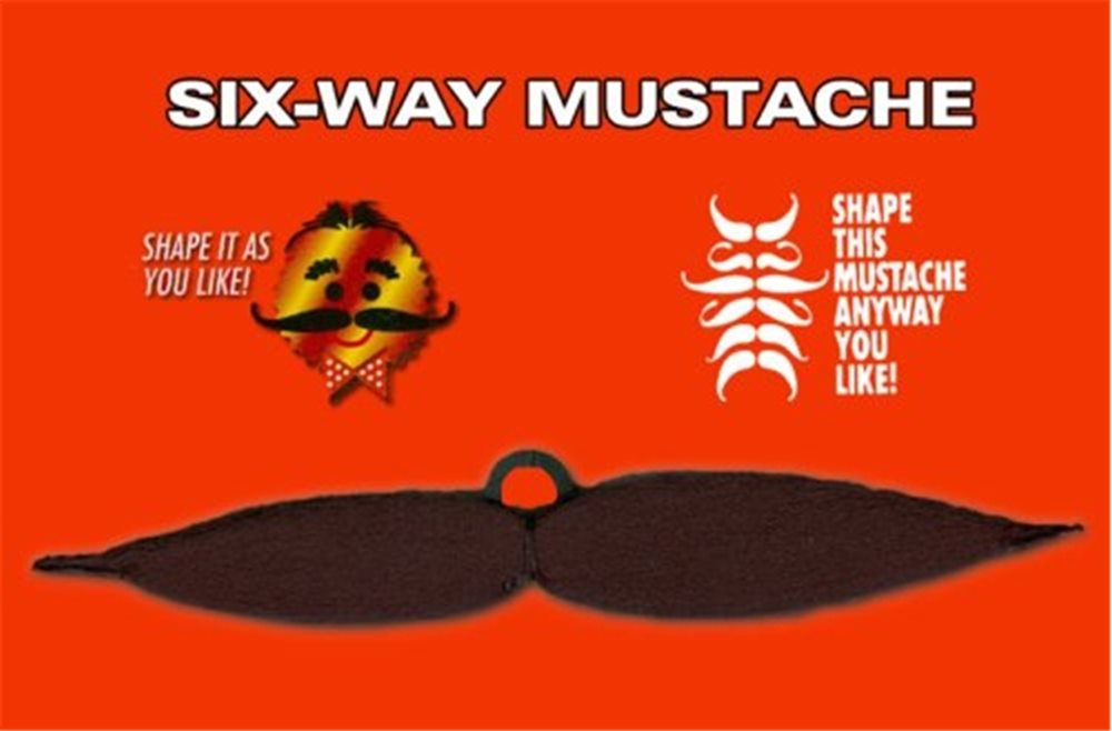 Picture of Six Way Moustache