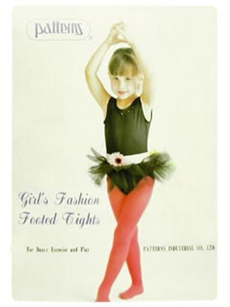 Picture of Deluxe Footed Tights Black Child