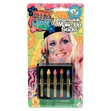 Picture of Groovy Psychedelic Makeup Sticks