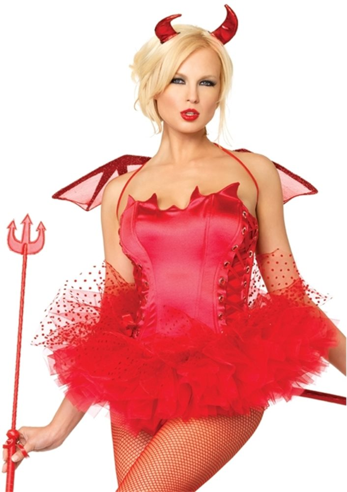 Picture of Naughty Devil Adult Womens Bustier