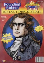 Picture of Thomas Jefferson Instant Disguise Kit