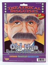 Picture of Old Man Eyebrows and Moustache