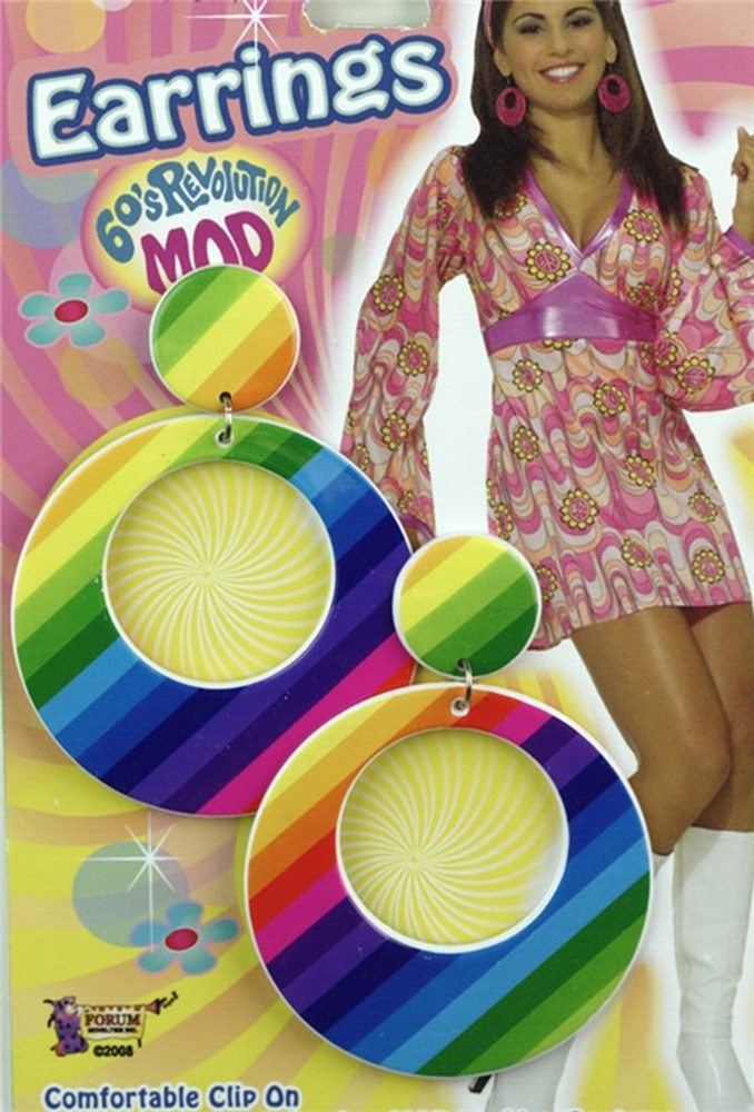 Picture of Mod Rainbow Earrings