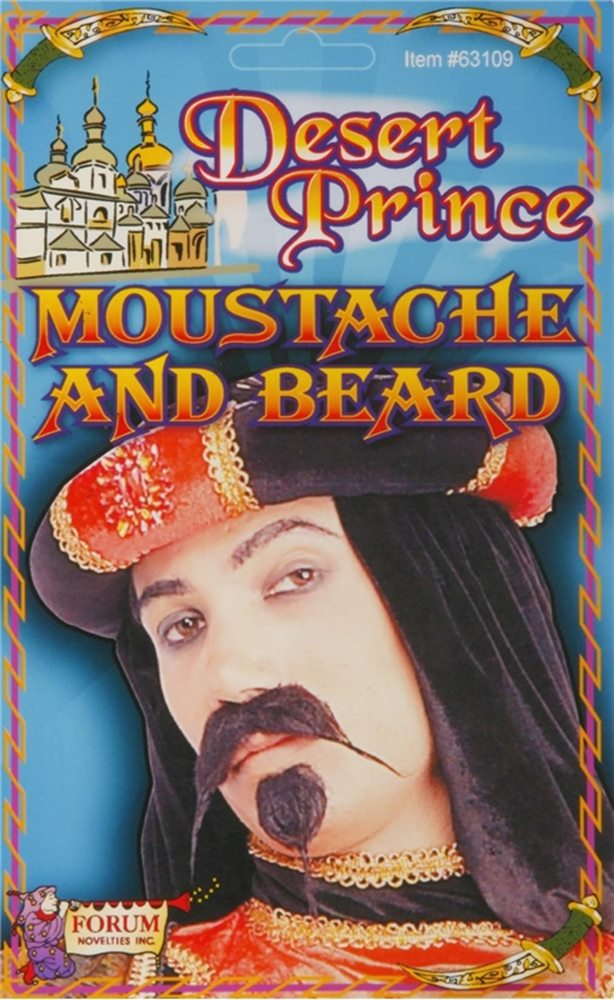 Picture of Desert Prince Moustache and Beard