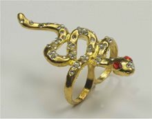 Picture of Two Finger Snake Ring