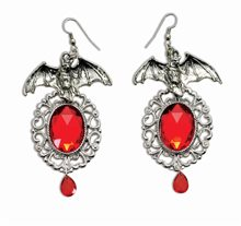 Picture of Vampiress Bat Earrings