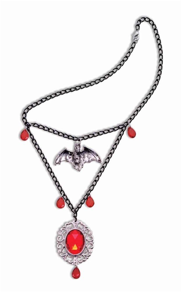 Picture of Vampiress Bat Necklace