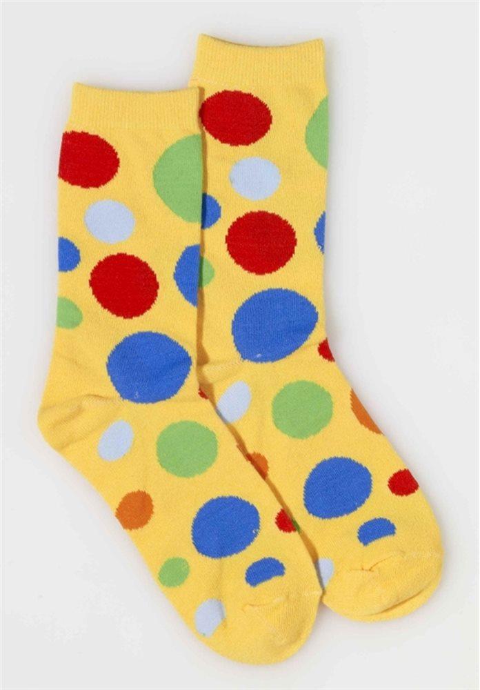 Picture of Clown Polka Dot Socks