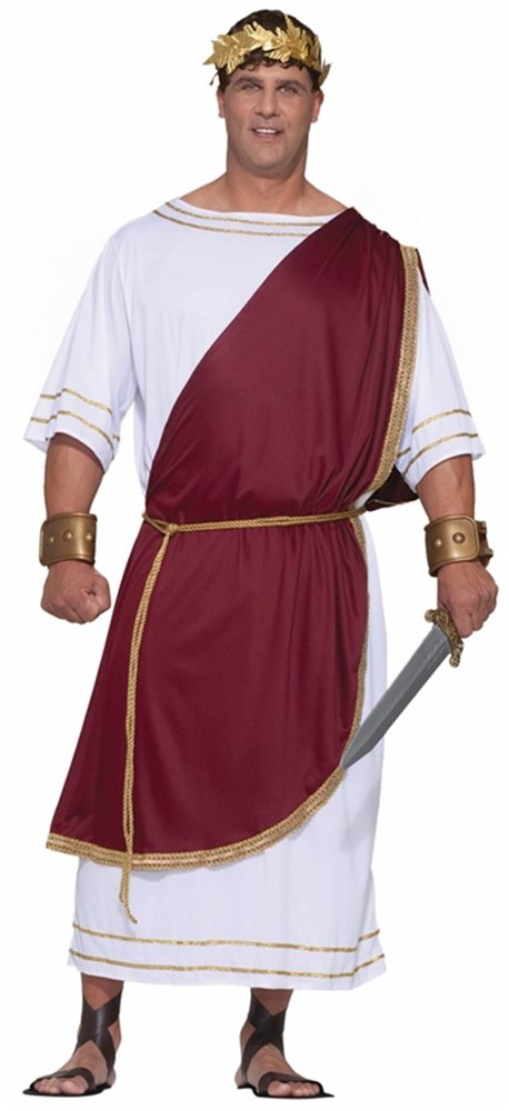 Picture of Mighty Caesar Adult Mens Plus Size Costume