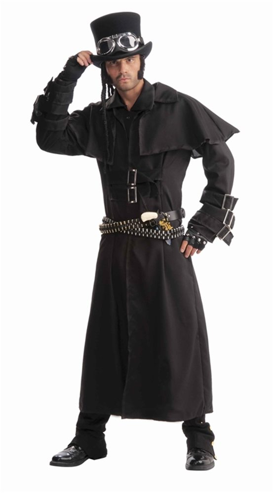 Picture of Steampunk Adult Mens Duster Coat