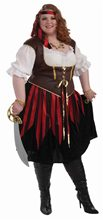 Picture of Pirate Lady Adult Womens Plus Size Costume
