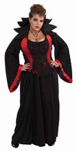 Picture of Vampiress Plus Size Adult Womens Costume