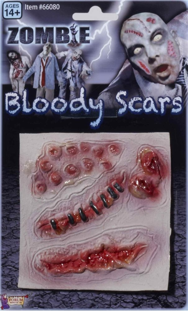 Picture of Zombie Scars Three Wounds
