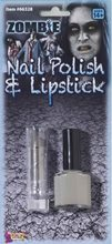 Picture of Zombie Nail Polish and Lipstick Set