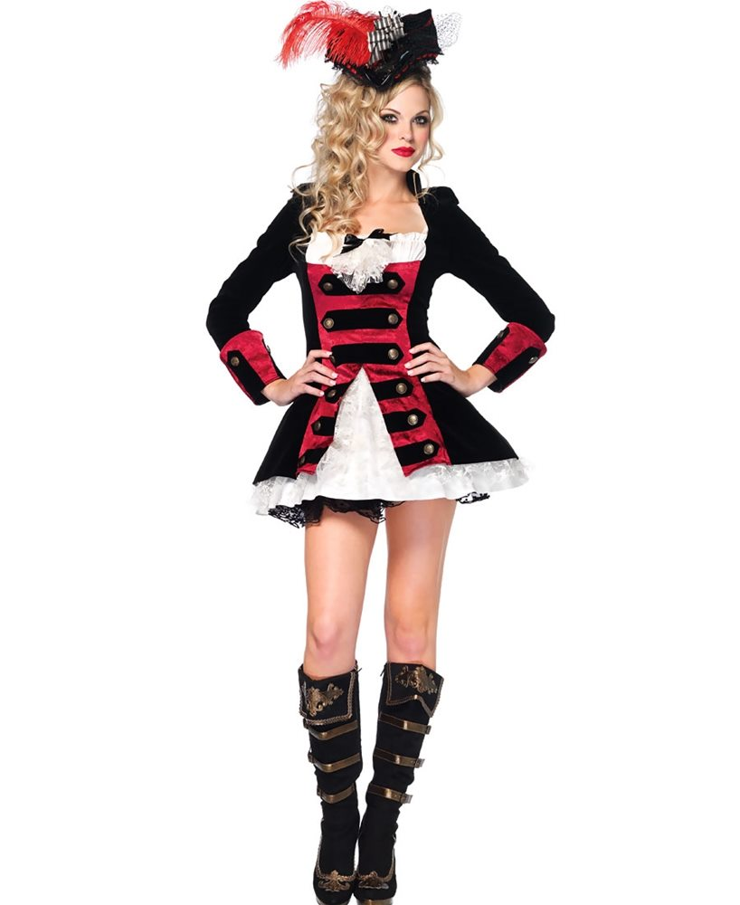 Picture of Charming Pirate Captain Adult Womens Costume