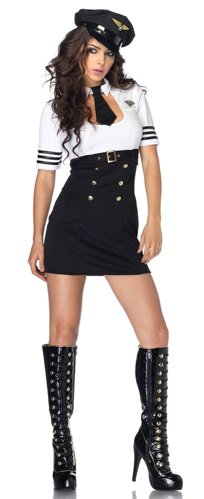 Picture of First Class Captain Adult Womens Costume