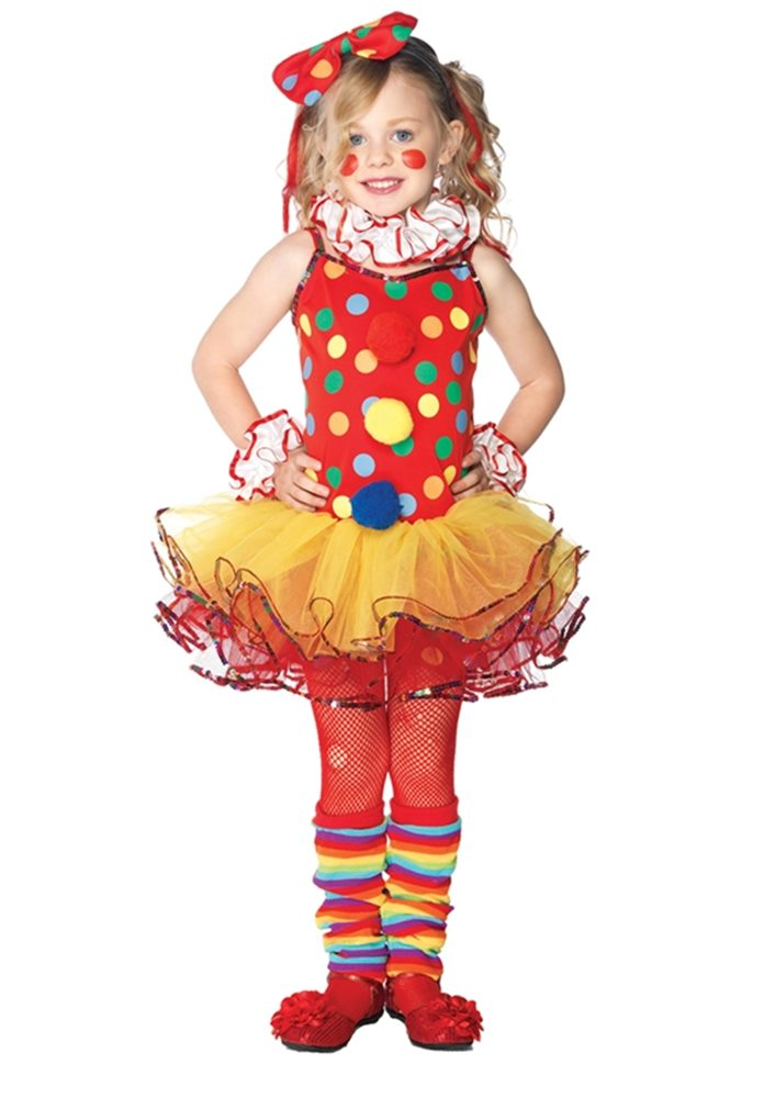 Picture of Circus Clown Girl Child Costume