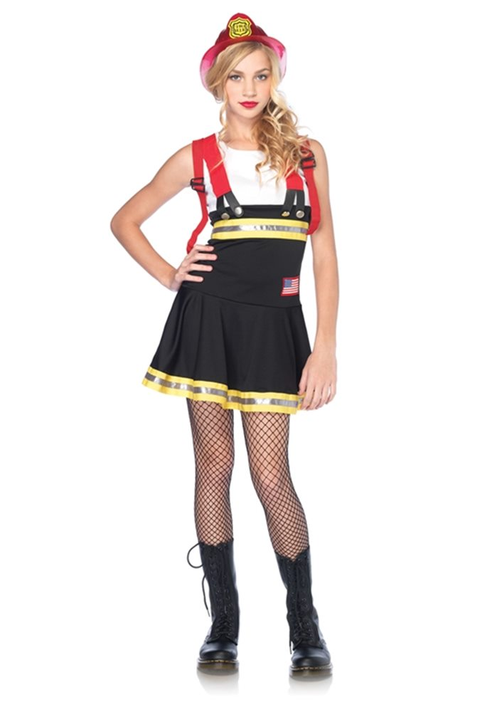 Picture of Sweetheart Firefighter Junior Costume