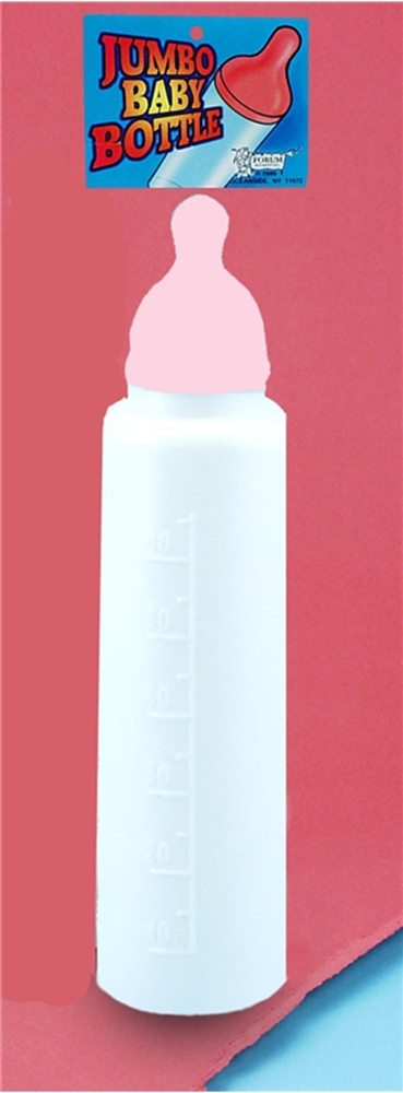 Picture of Jumbo Baby Bottle Pink