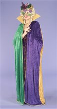 Picture of Mardi Gras Cape Womens Costume