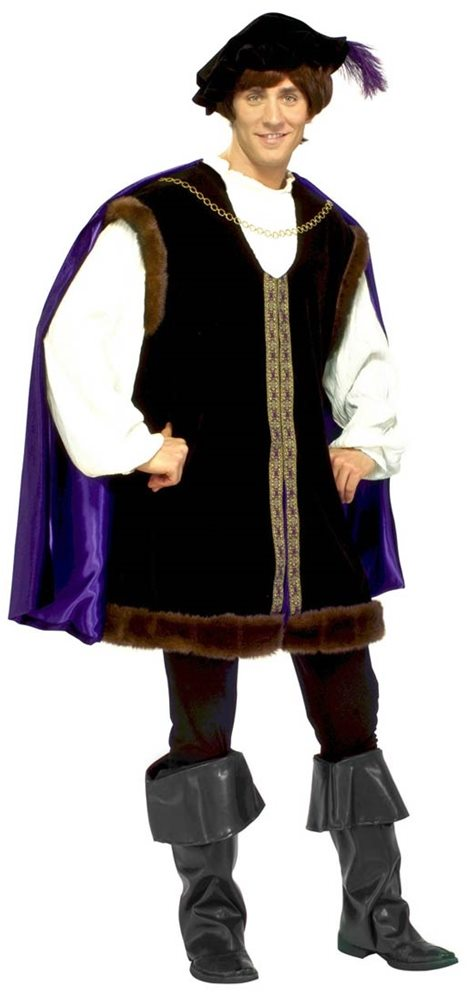Picture of Deluxe Noble Lord Adult Mens Costume