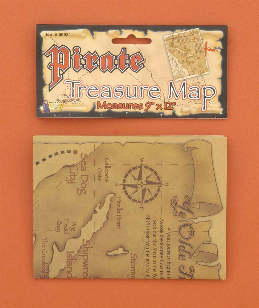 Picture of Pirate Map