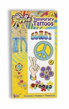 Picture of Hippie Temporary Tattoo's