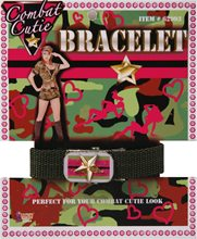 Picture of Deluxe Combat Cutie Dog Tag Bracelet