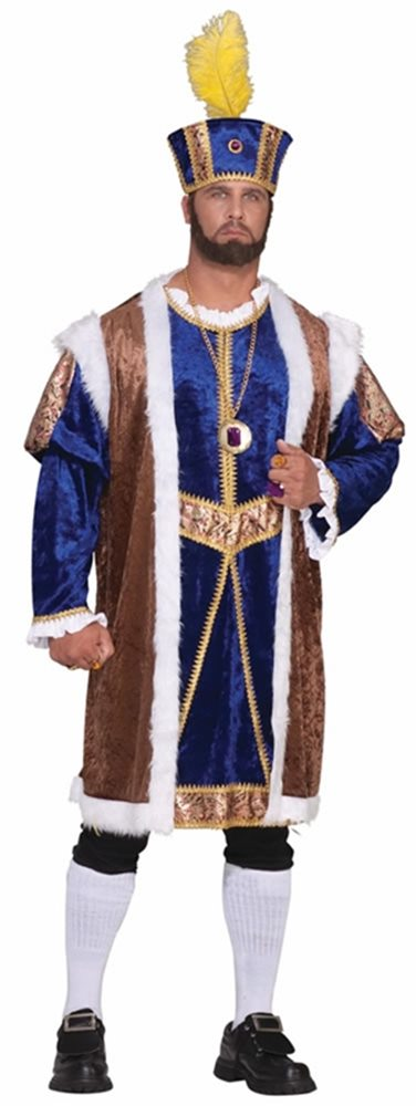 Picture of Henry the Eighth Adult Mens Plus Size Costume