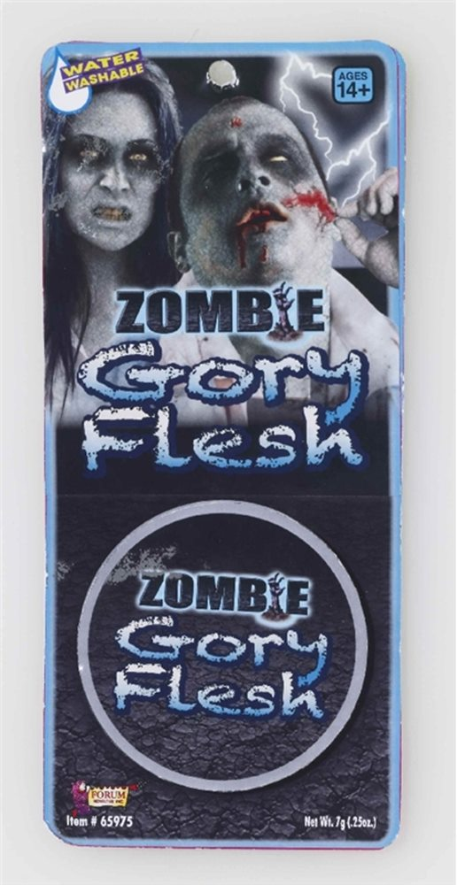 Picture of Zombie Gory Flesh Makeup