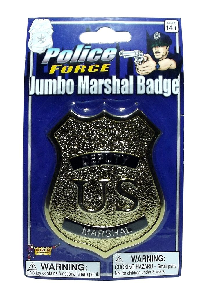 Picture of Gold Jumbo Marshal Badge