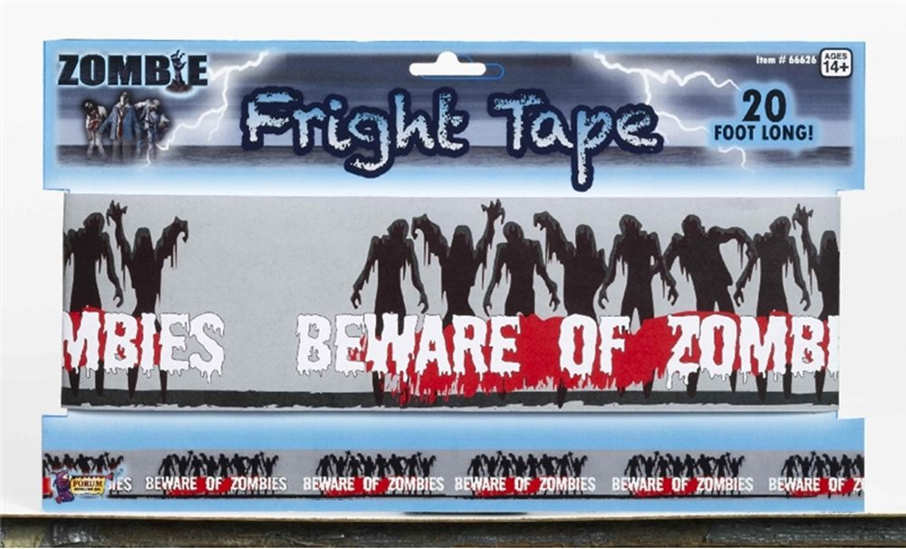 Picture of Zombie Warning Tape