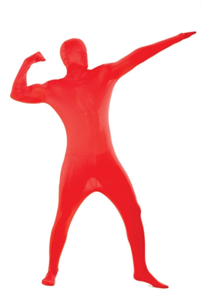 Picture of Red Skin Suit Adult Costume