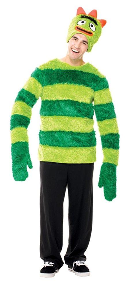 Picture of Yo Gabba Gabba Brobee Adult Mens Costume