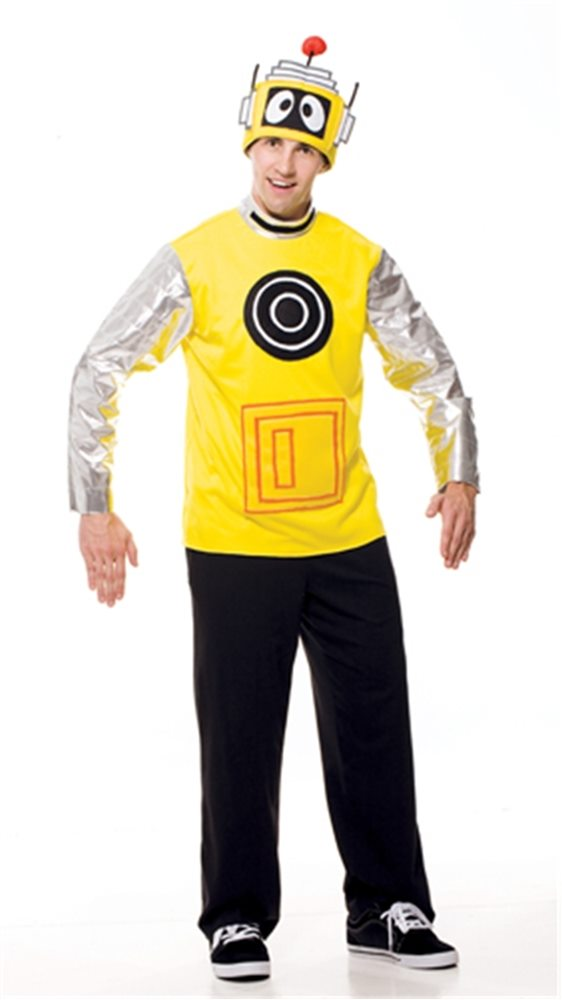 Picture of Yo Gabba Gabba Plex Adult Mens Costume