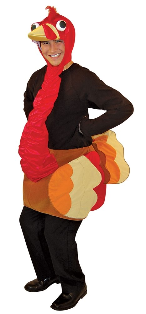 Picture of Lightweight Turkey Adult Unisex Costume