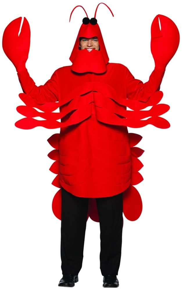 Picture of Light Weight Lobster Costume Adult
