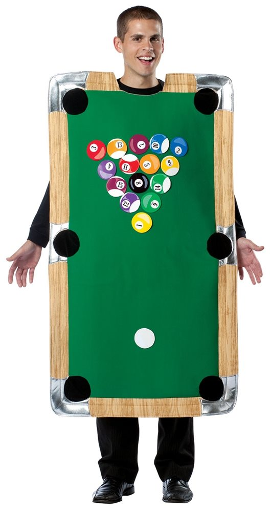 Picture of Pool Table Adult Unisex Costume