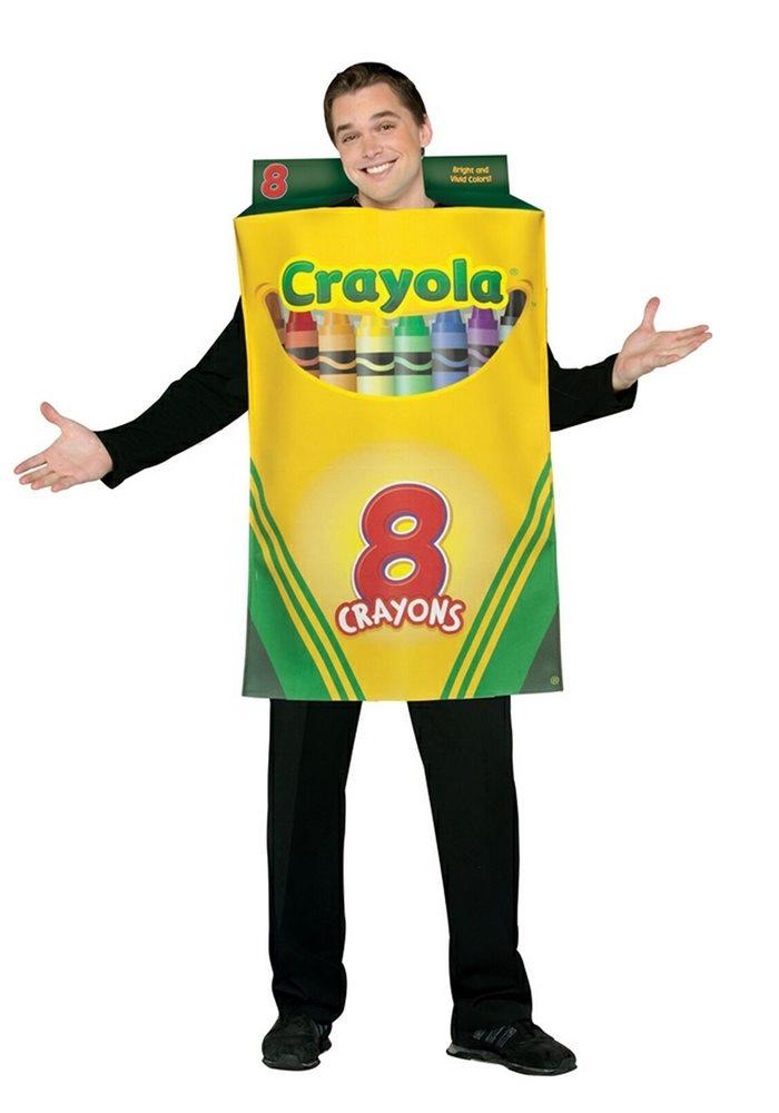 Picture of Crayola Crayon Box Adult Unisex Costume