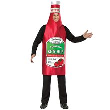Picture of Tomato Ketchup Bottle Adult Costume