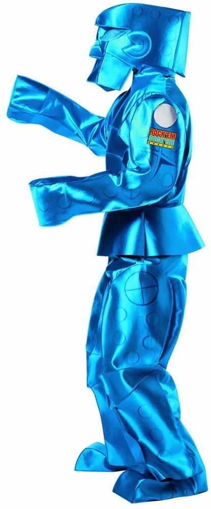 Picture of Blue Rock Em Sock Em Robot Adult Costume