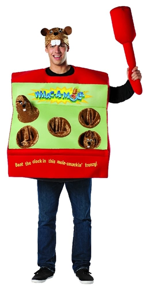 Picture of Whac-A-Mole Arcade Game Adult Costume