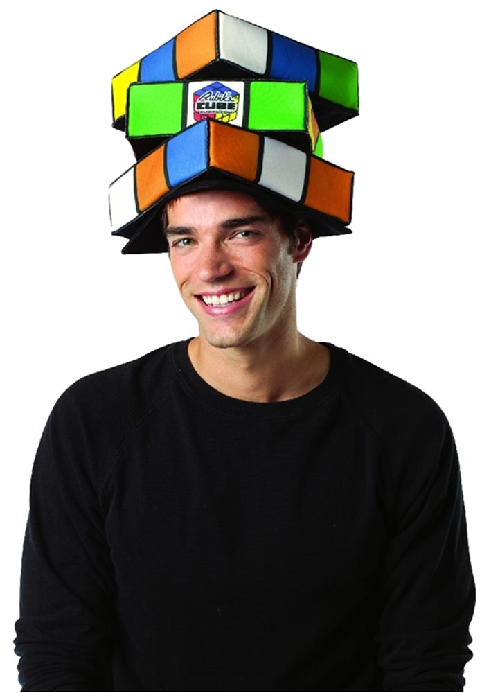 Picture of Rubiks Cube Hat