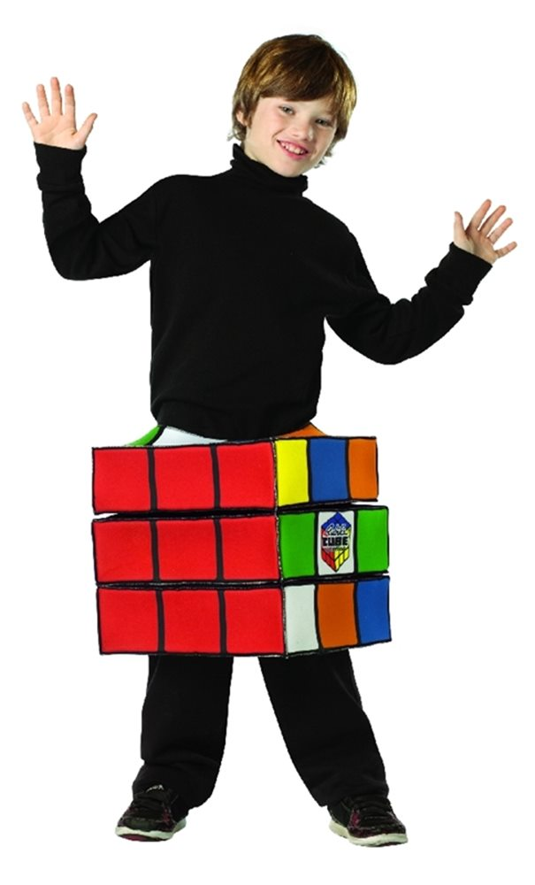 Picture of Rubik's Cube Child Costume