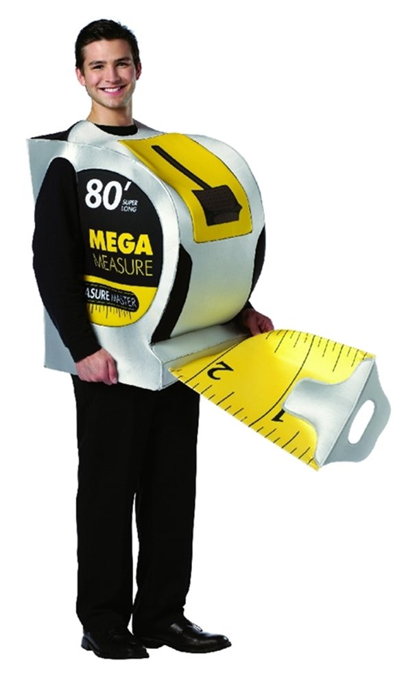 Picture of Hard Wear Tape Measure Adult Costume