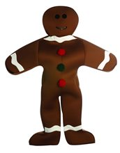 Picture of Gingerbread Man Adult Costume