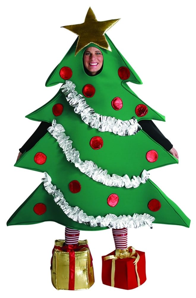 Picture of Christmas Tree Costume Adult