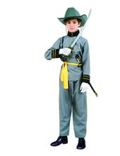 Picture of Confederate Officer Child Costume